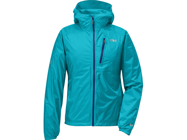 ab6982d5 Outdoor Research W's Helium II Jacket Typhoon/Baltic   Gode tilbud ...